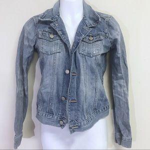 Abercrombie Vintage Denim Jean Jacket Youth Large